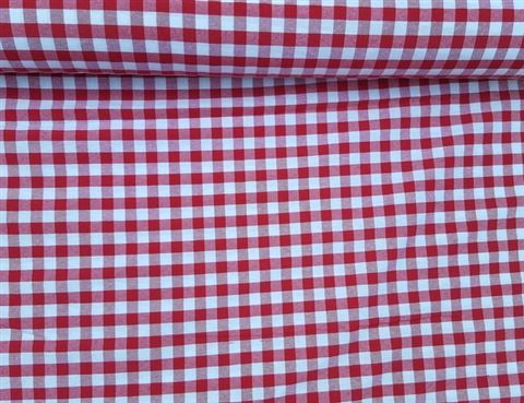 Ruitstof Boerenbond EXTRA BREED 280 CM Rood Wit