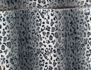 Animal Skin Panter zwart  Imitatie bond